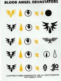 Blood Angel Devastators Transfer Sheet Decals (1996)